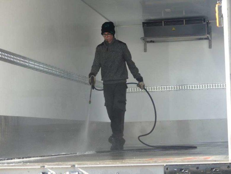 Nettoyage haute-pression